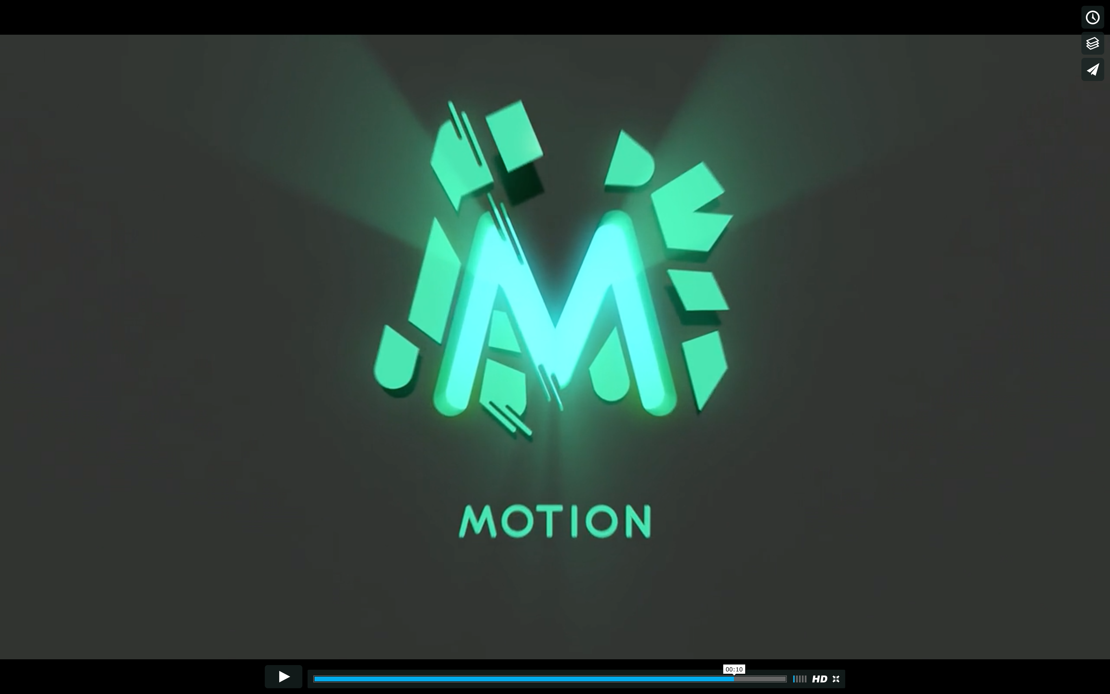 Animated M