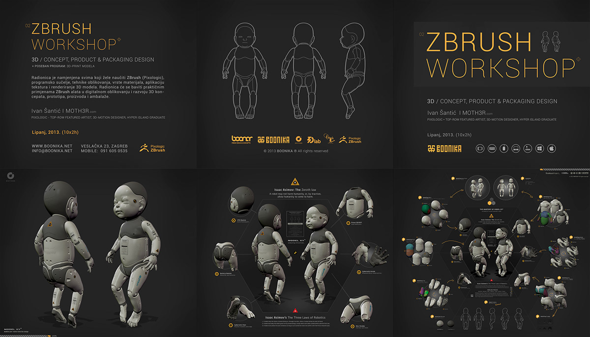 ZBrush Workshop feat. Model XY3