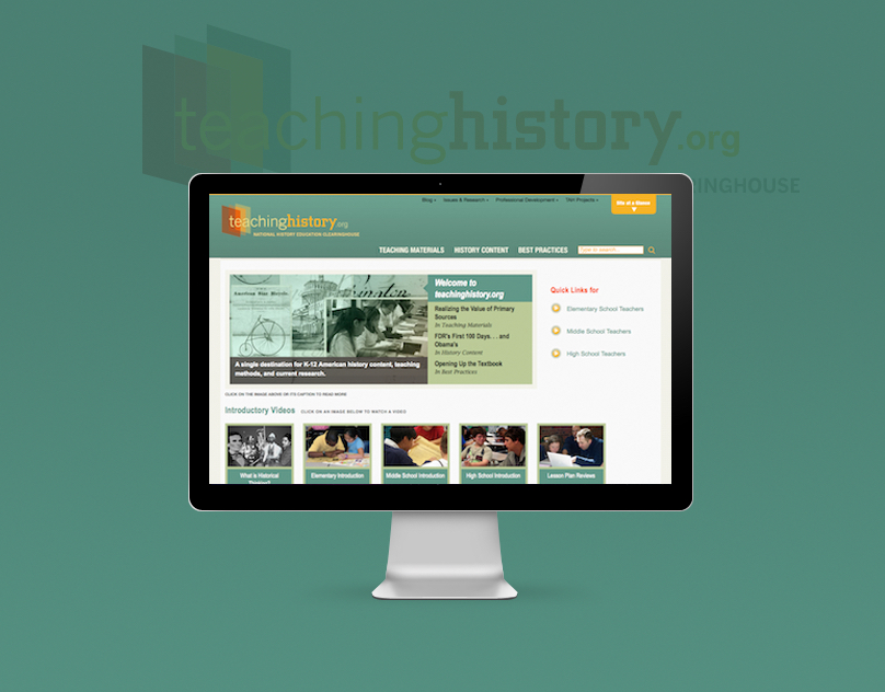Teaching History website