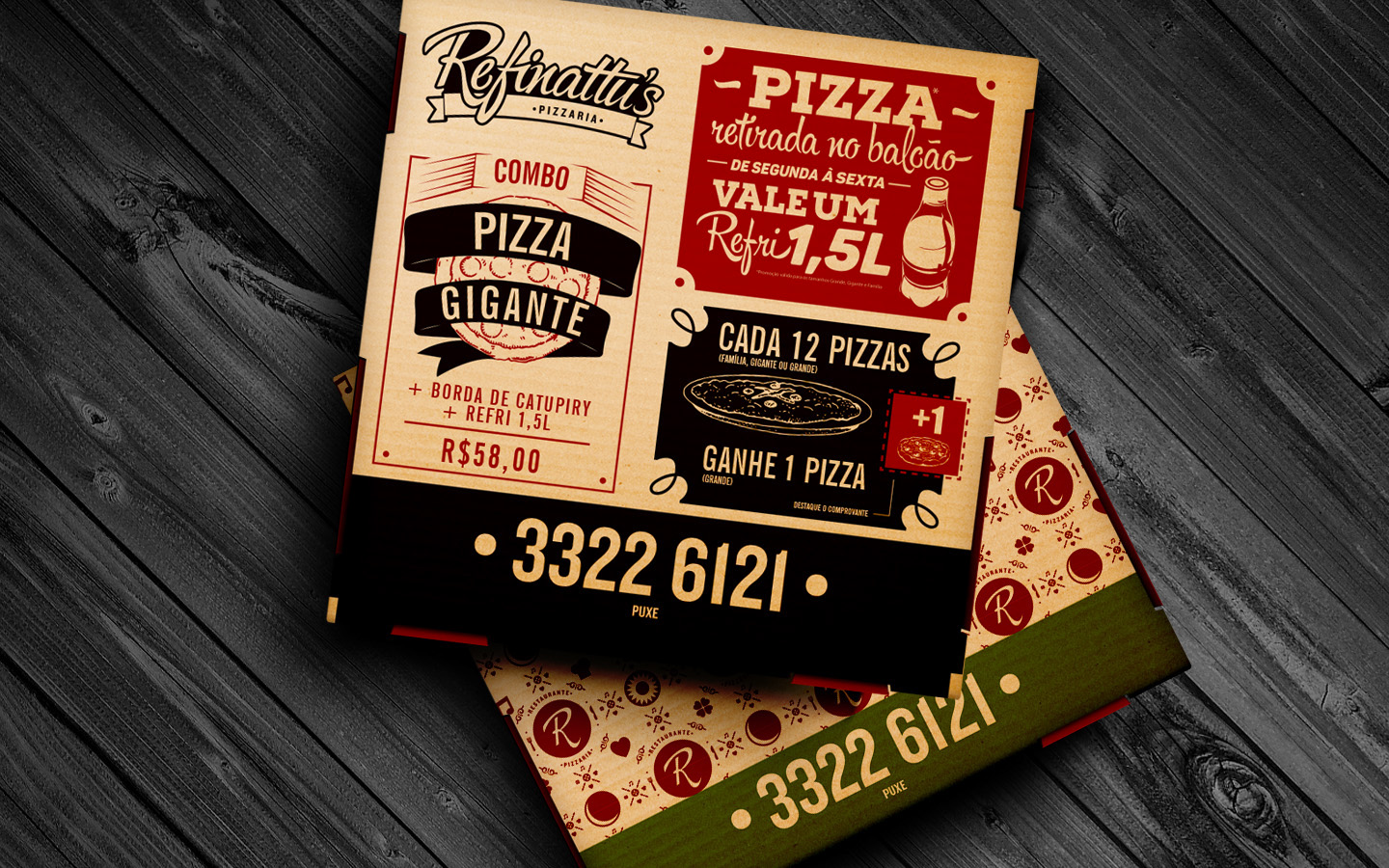 Refinattus Pizza and Restaurant