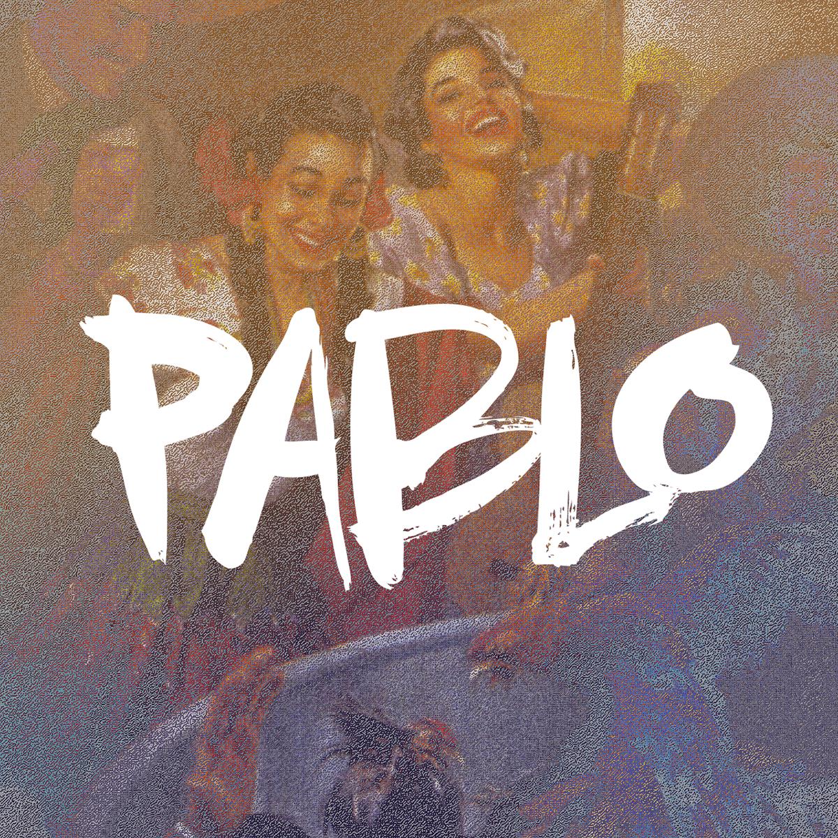 Pablo Brush Typeface