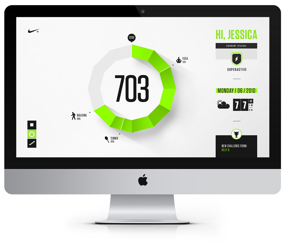 Nike Fuel Design Exploration