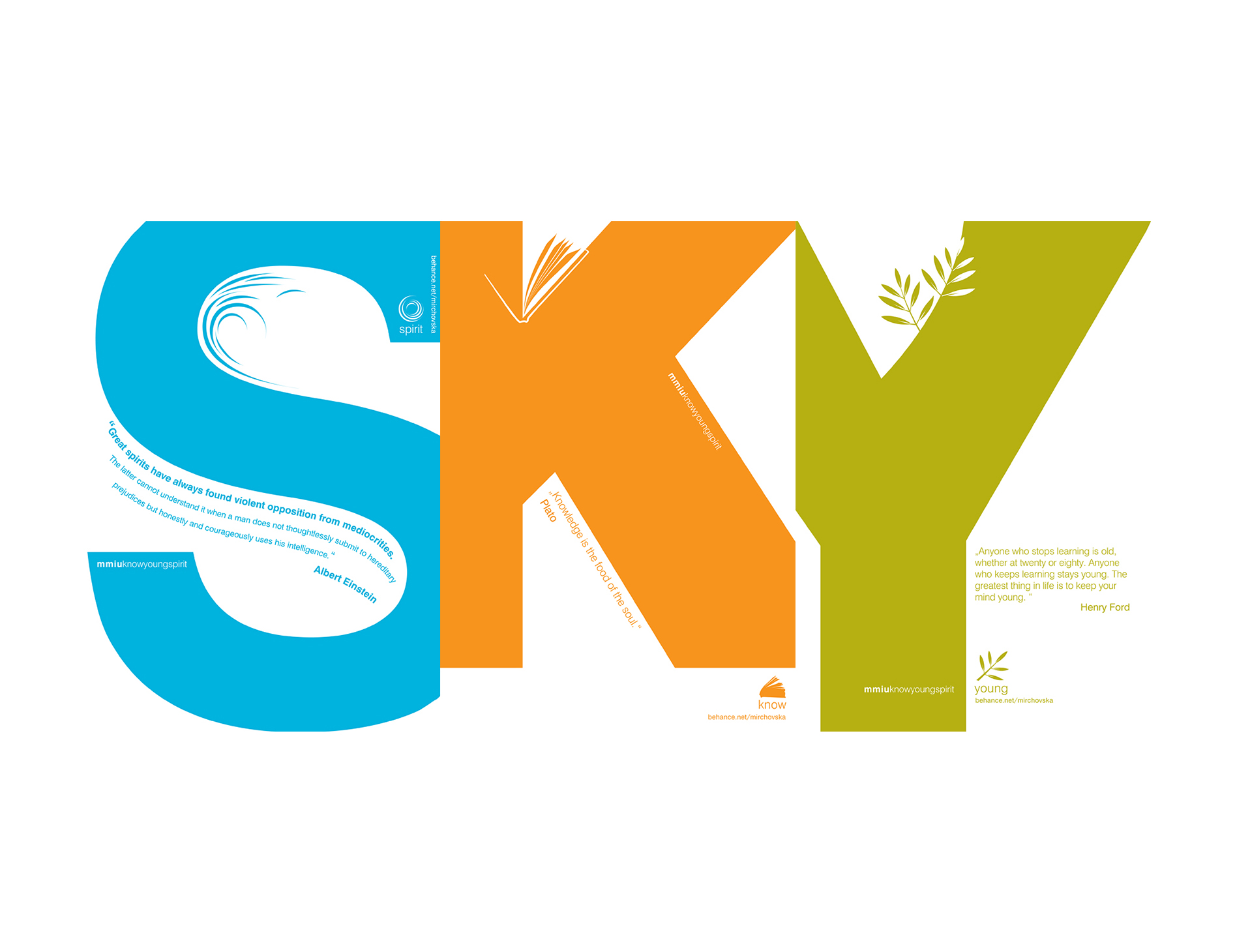 SKY: Spirit, Know, Young Notebooks