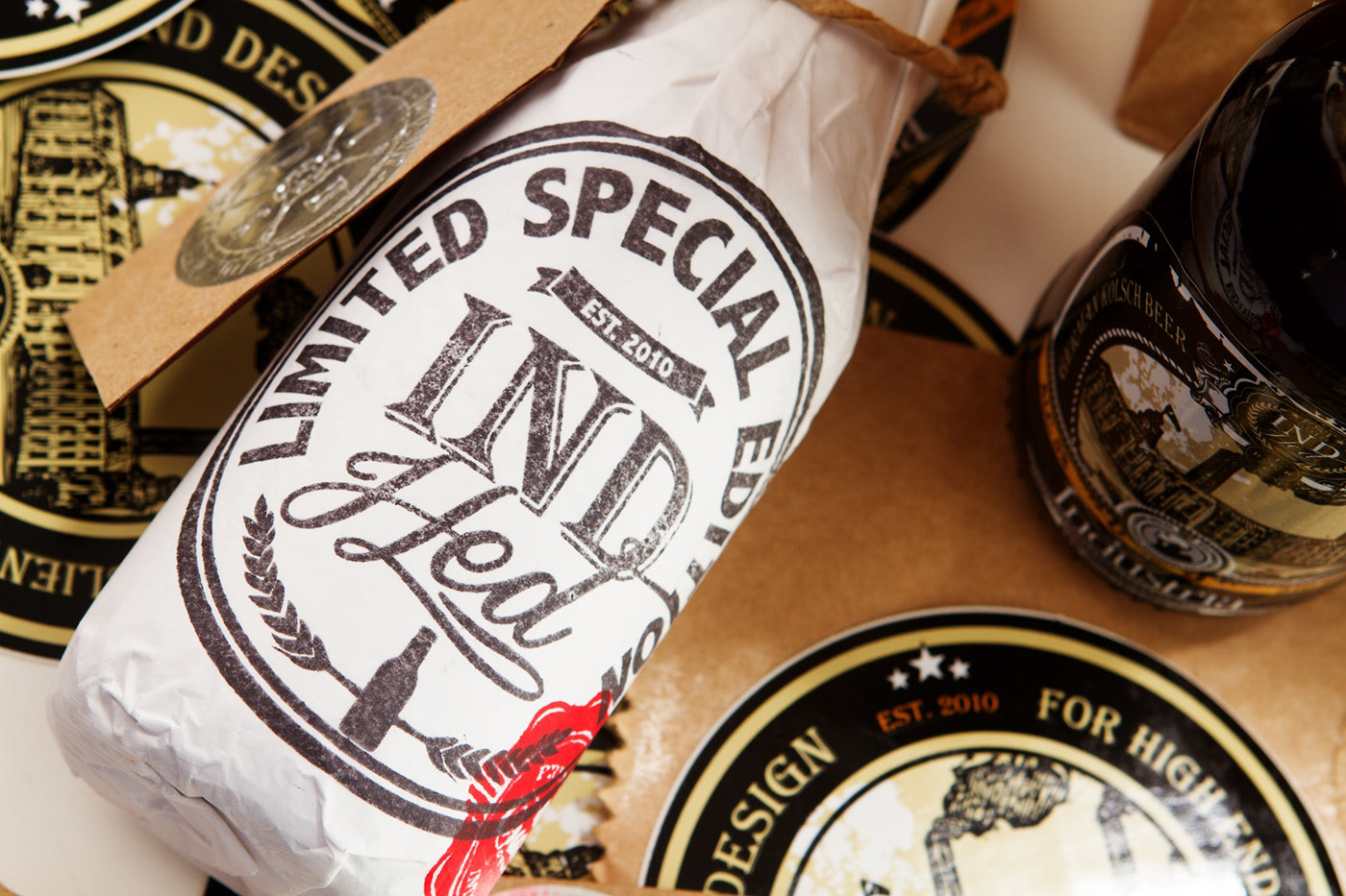 IndHed™ Craft Beer Limited Edition // Package Design