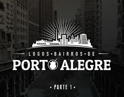 Logos Bairros de Porto Alegre
