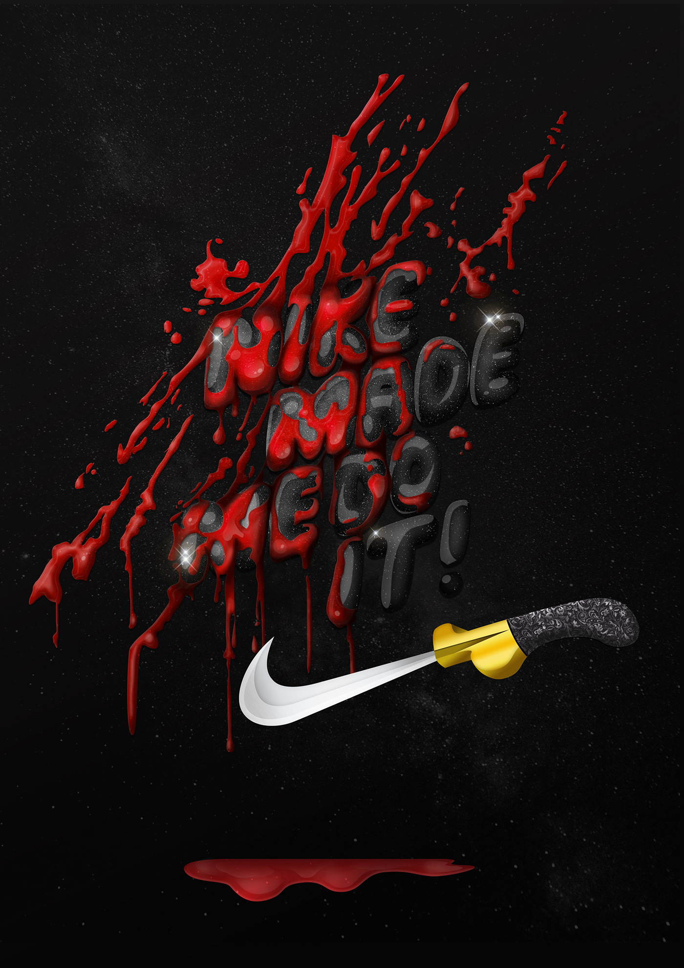 NIKE MADE ME DO IT!