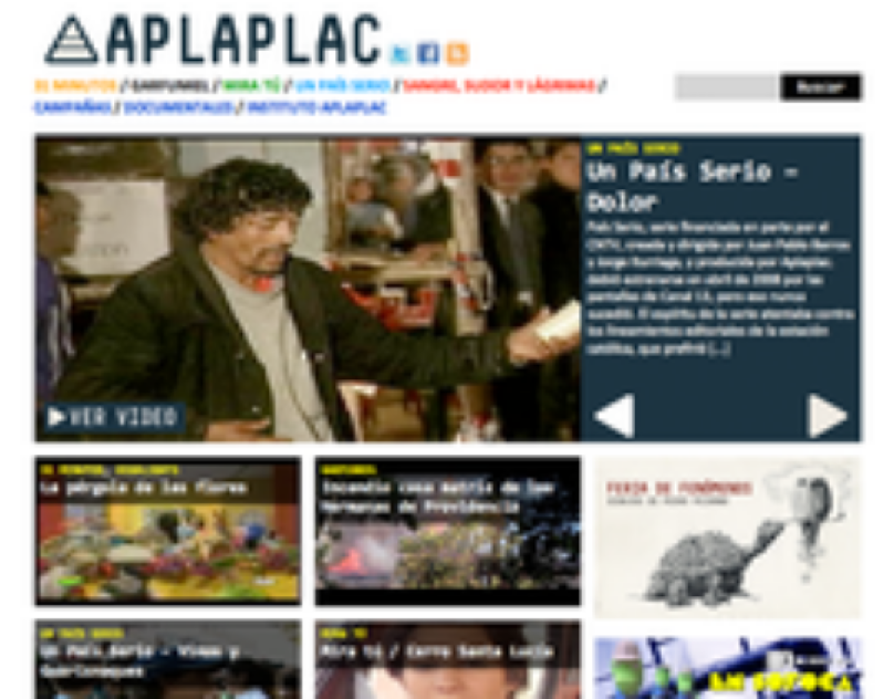 Aplaplac website