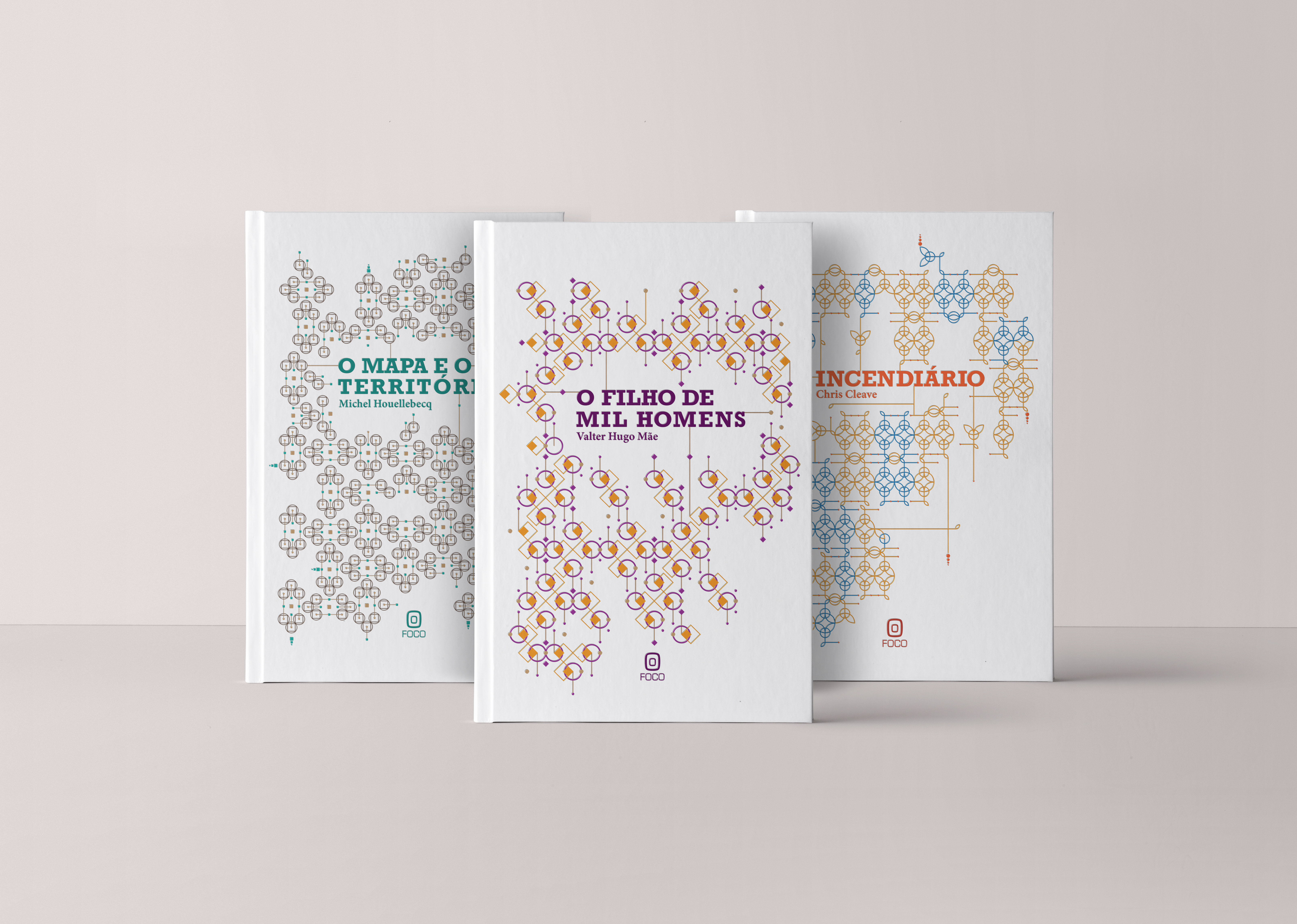 Book Covers - Bio Pattern Design
