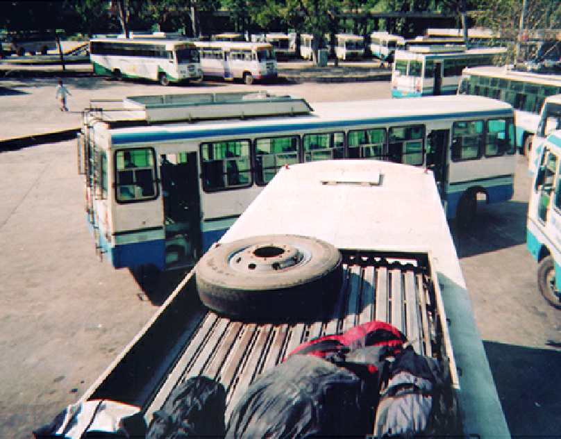 Bus Abundance, Chandigarh, India.