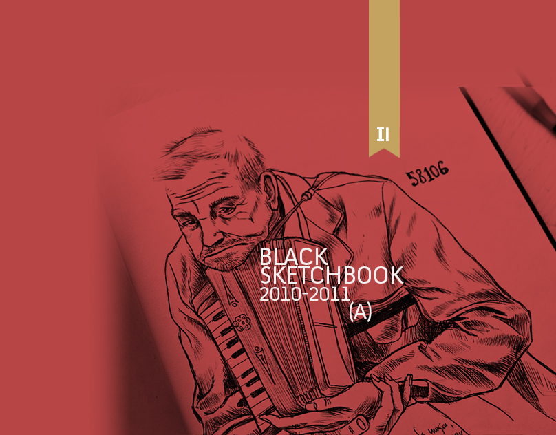 Sketching the life: Sketchbook part 01