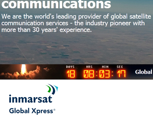 Inmarsat GX Launch