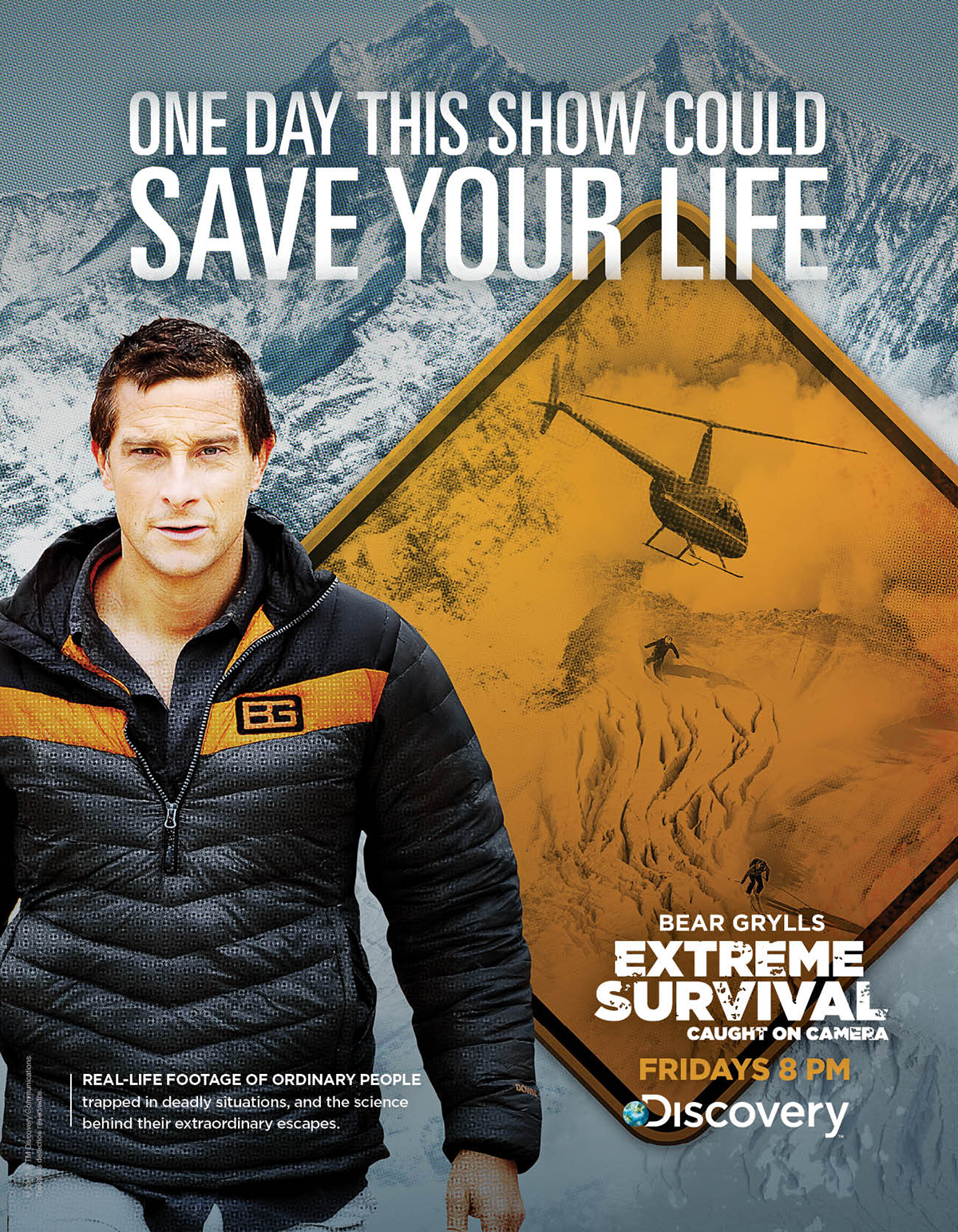 Bear Grylls Extreme Survival Caught on Camera
