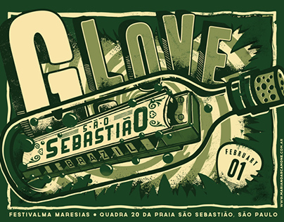 G. Love Posters - Brazilian Tour 2014