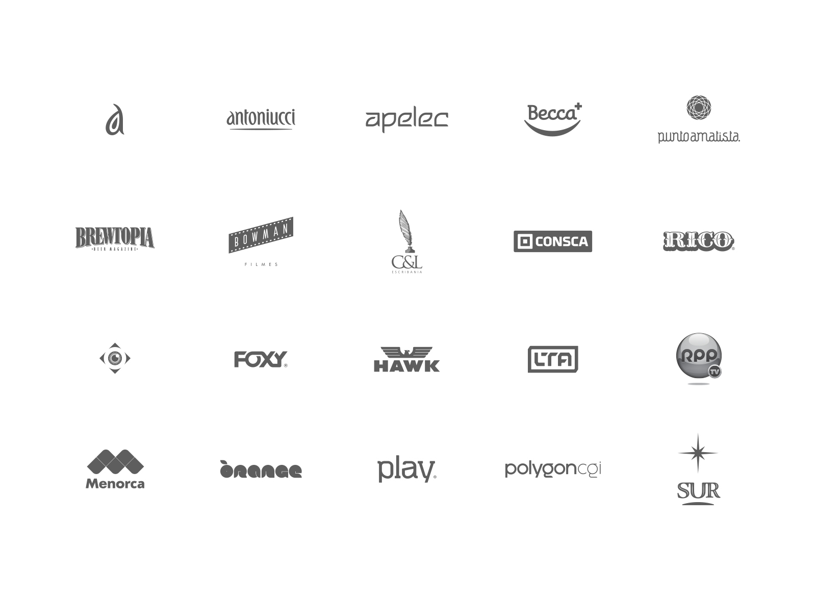 a few logo types