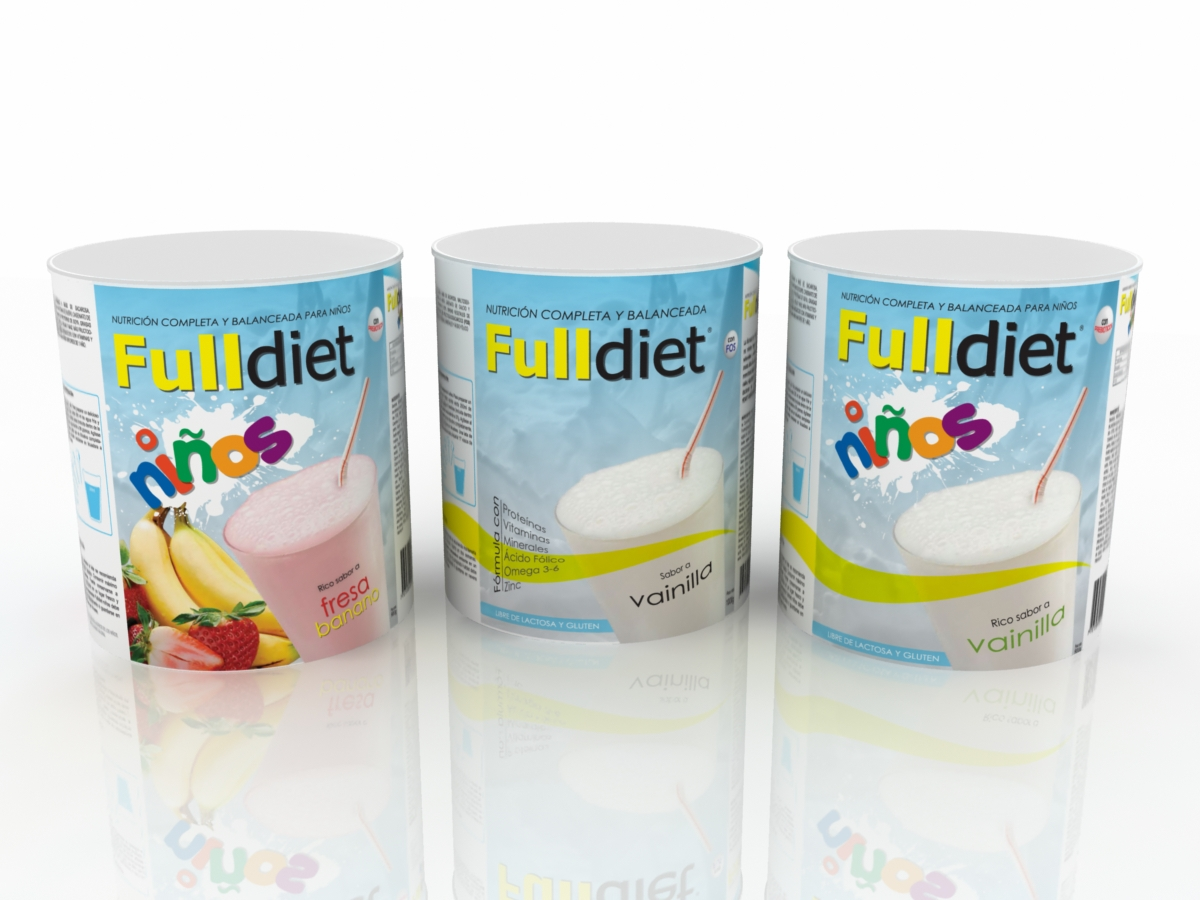 FULL DIET - PACKAGING