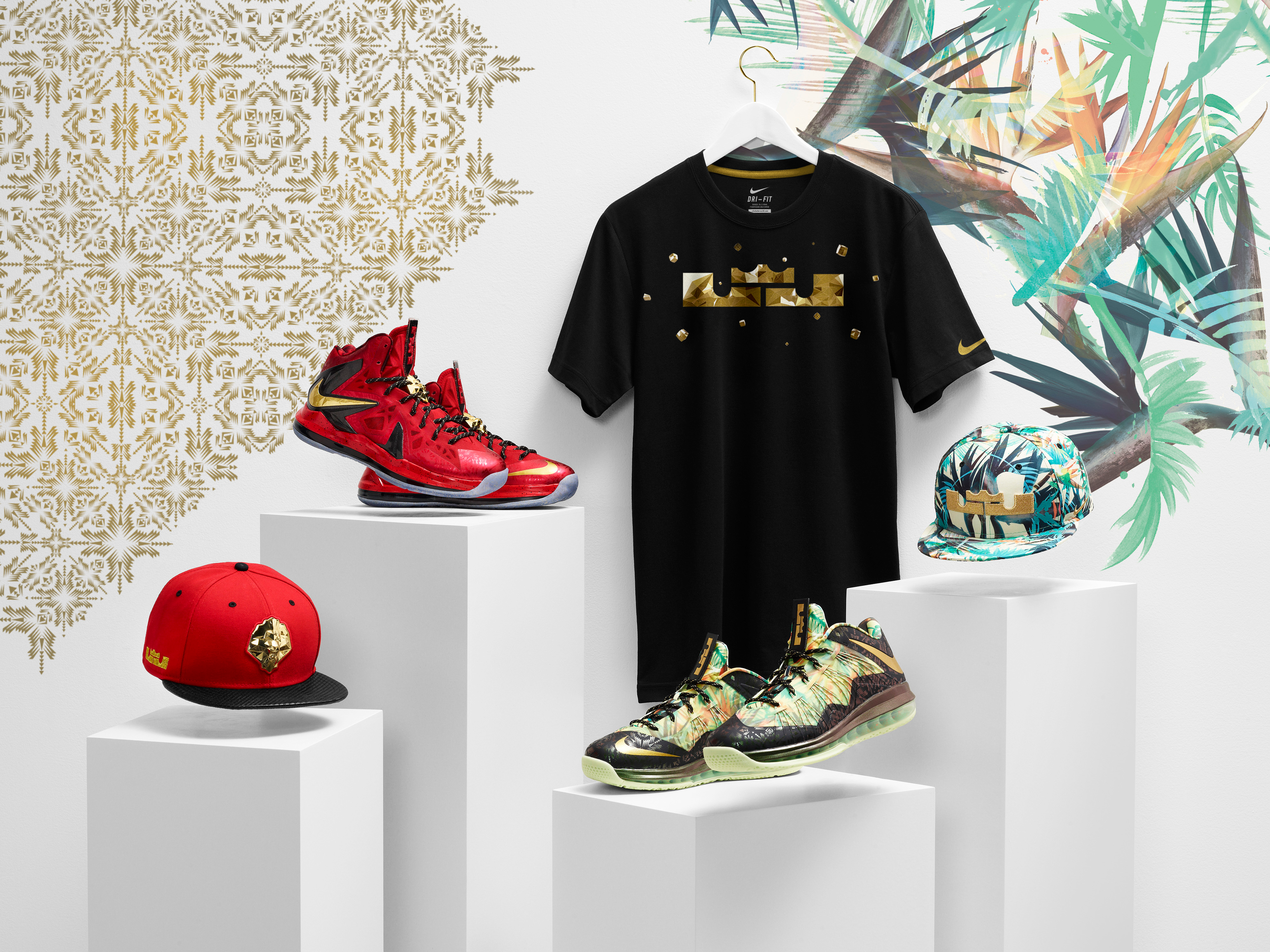 Lebron - Crown Diamond Collection Campaign