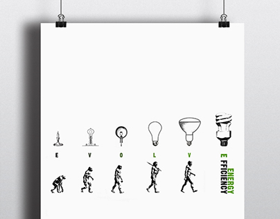 Energy Efficiency Poster (Good 50x70 winner)