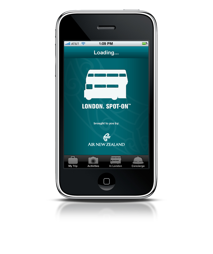 Spot-On™ Travel Guide App Series for Air New Zealand