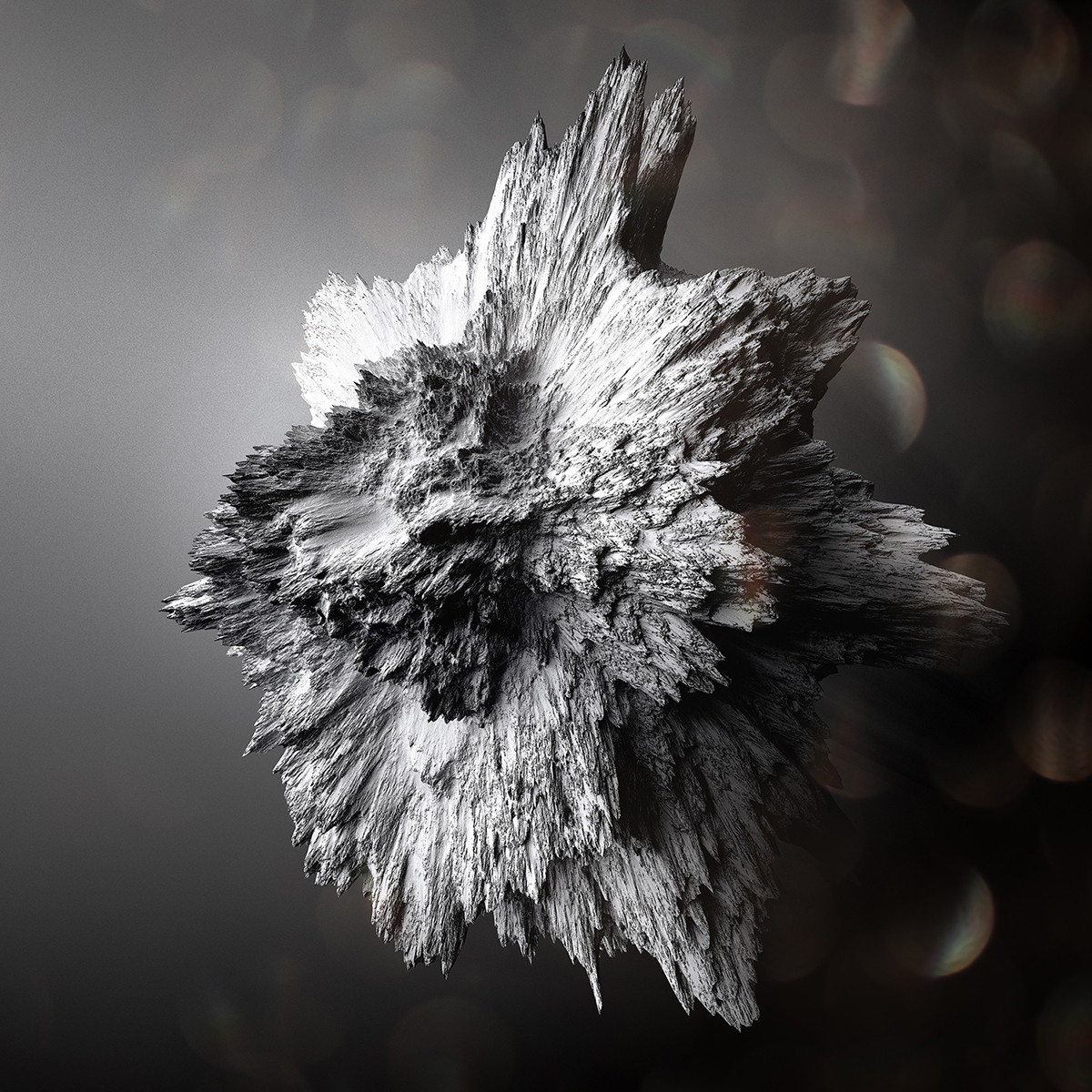 Crystallized Asteroïds