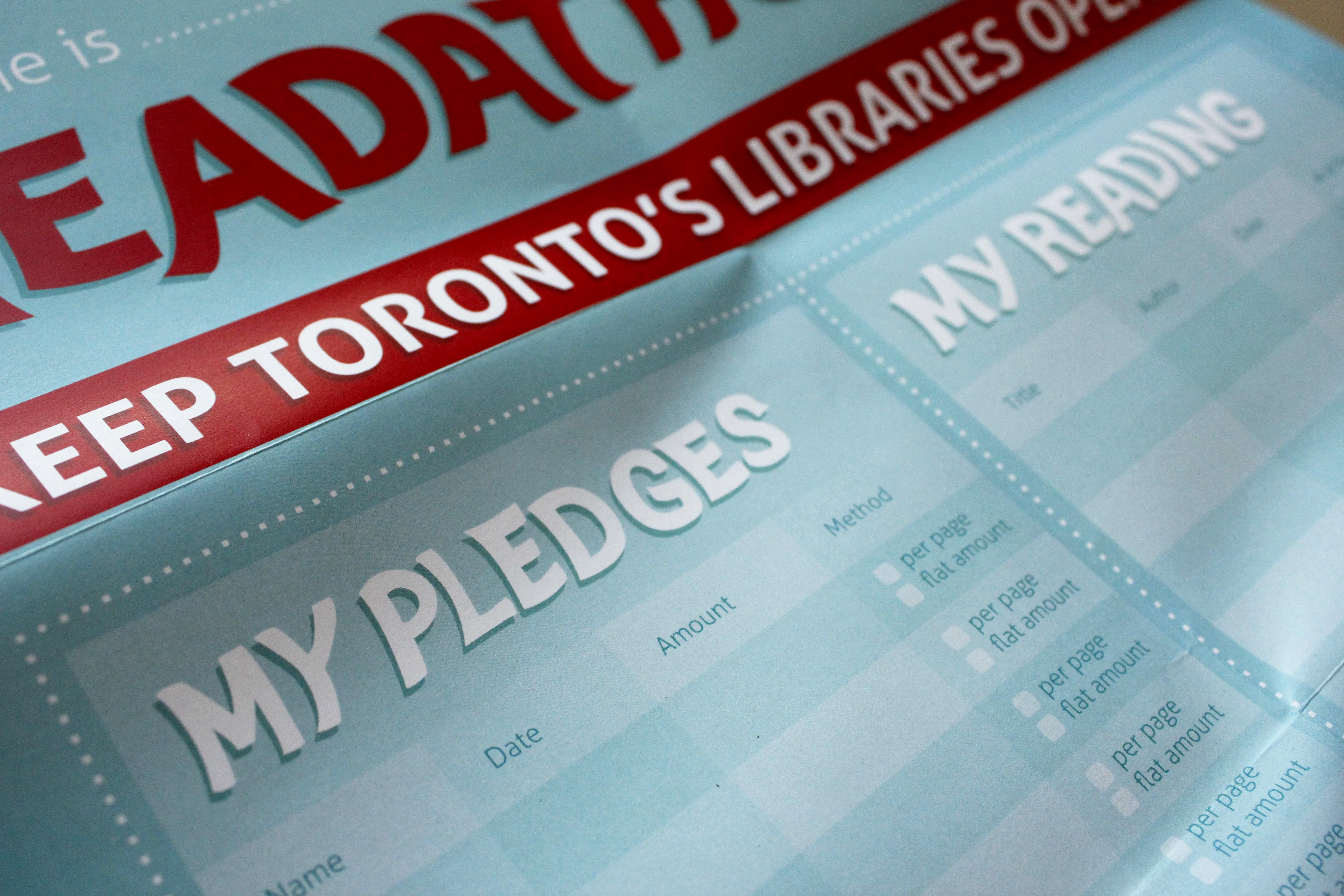 Toronto Library Readathon Package