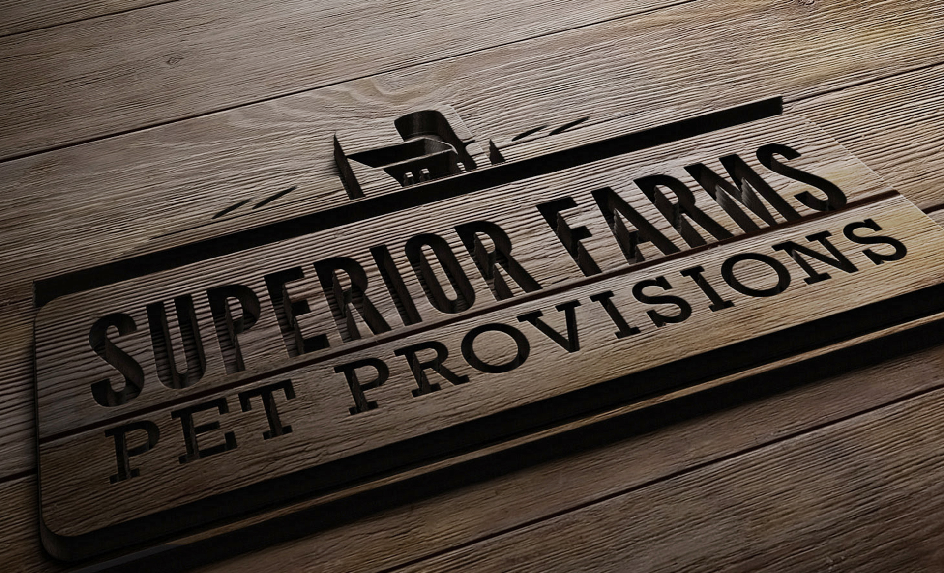 Superior Farms branding