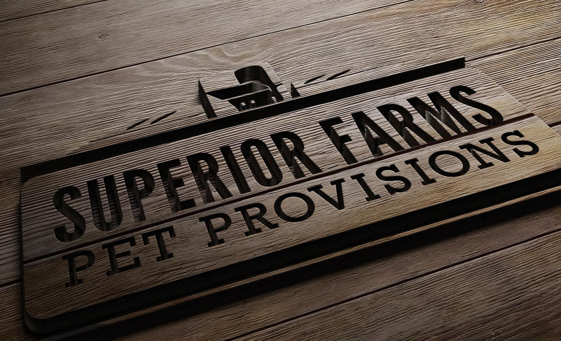 Superior Farms branding