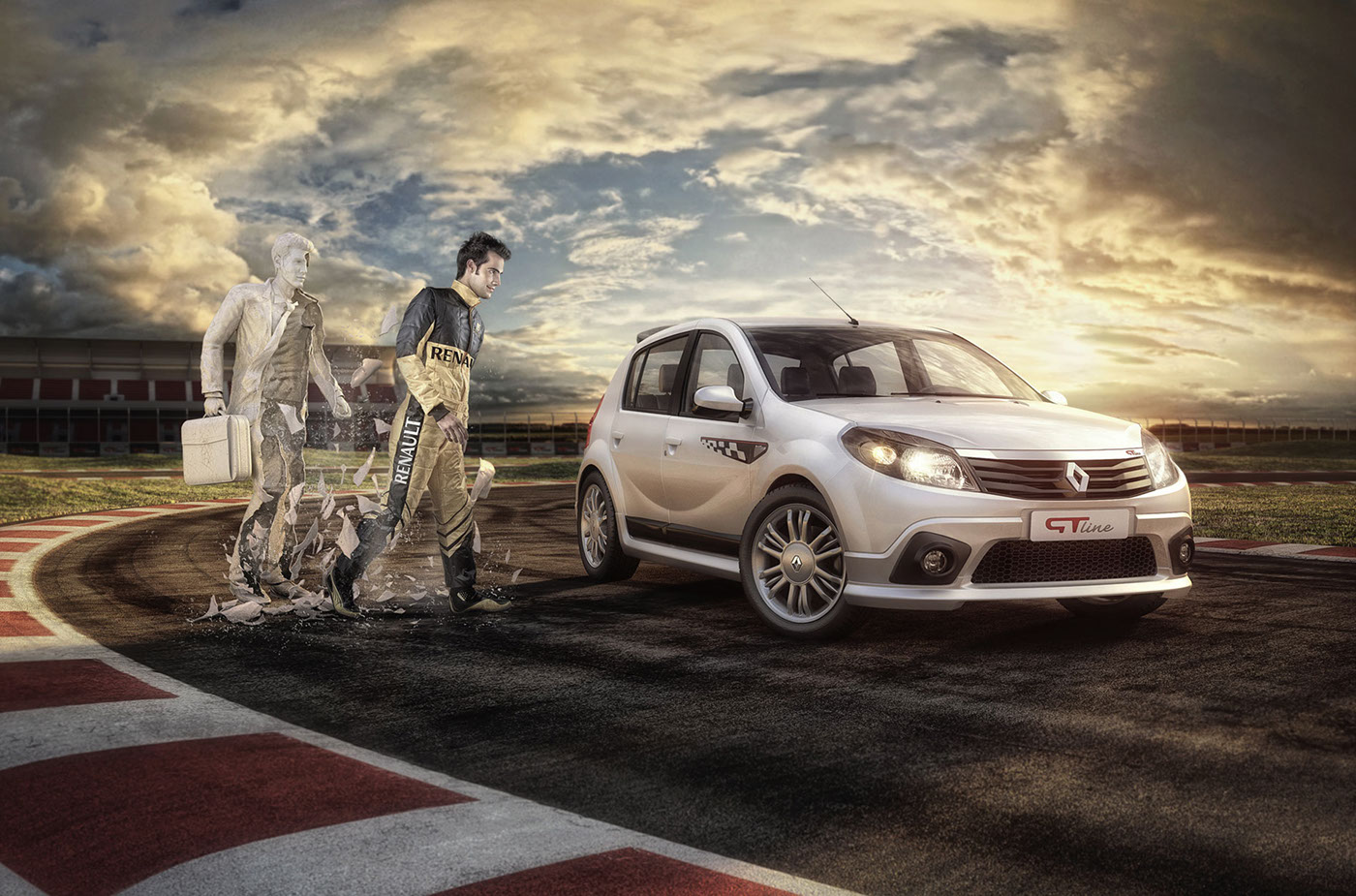 CGI, 3D, digital retouching - RENAULT