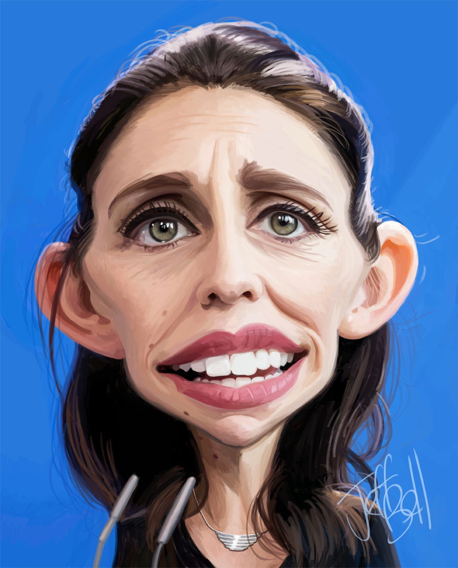 Caricature - celebrities and politicians by Jeff Bell