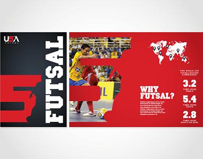 USA Futsal // Brochure