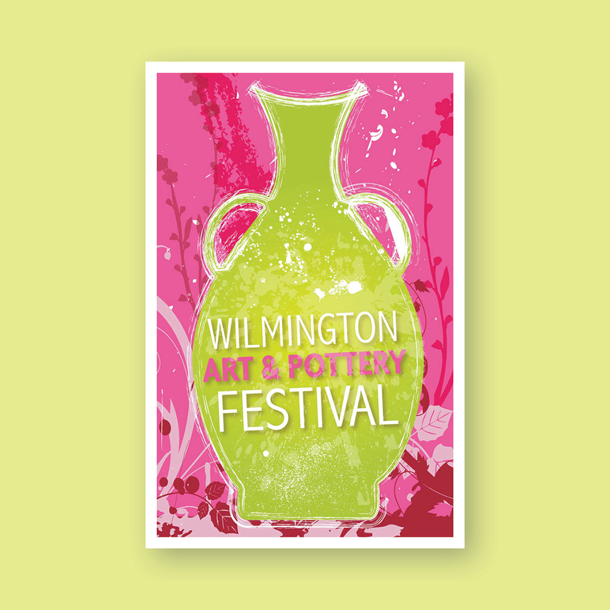 Wilmington Art & Pottery Festival Poster Design