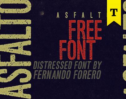 ASFALTO [free font]