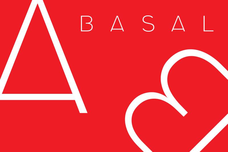 Basal Typeface