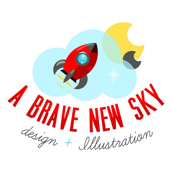A Brave New Sky Logo