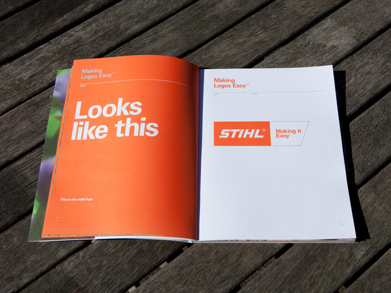 STIHL - Making It Easy Brand Guidelines