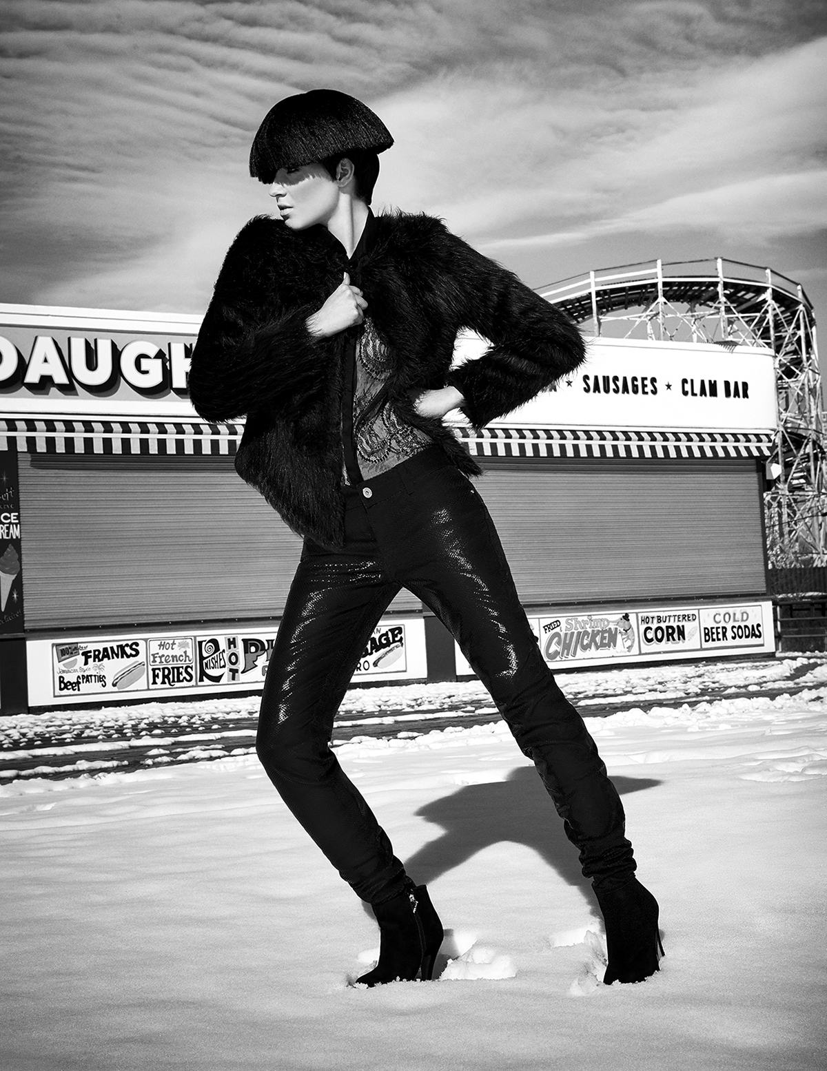 Colcci Mag Fall 2013 | Coney Island