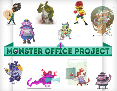MONSTER OFFICE PROJECT
