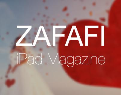 Zafafi | iPad Interactive Magazine
