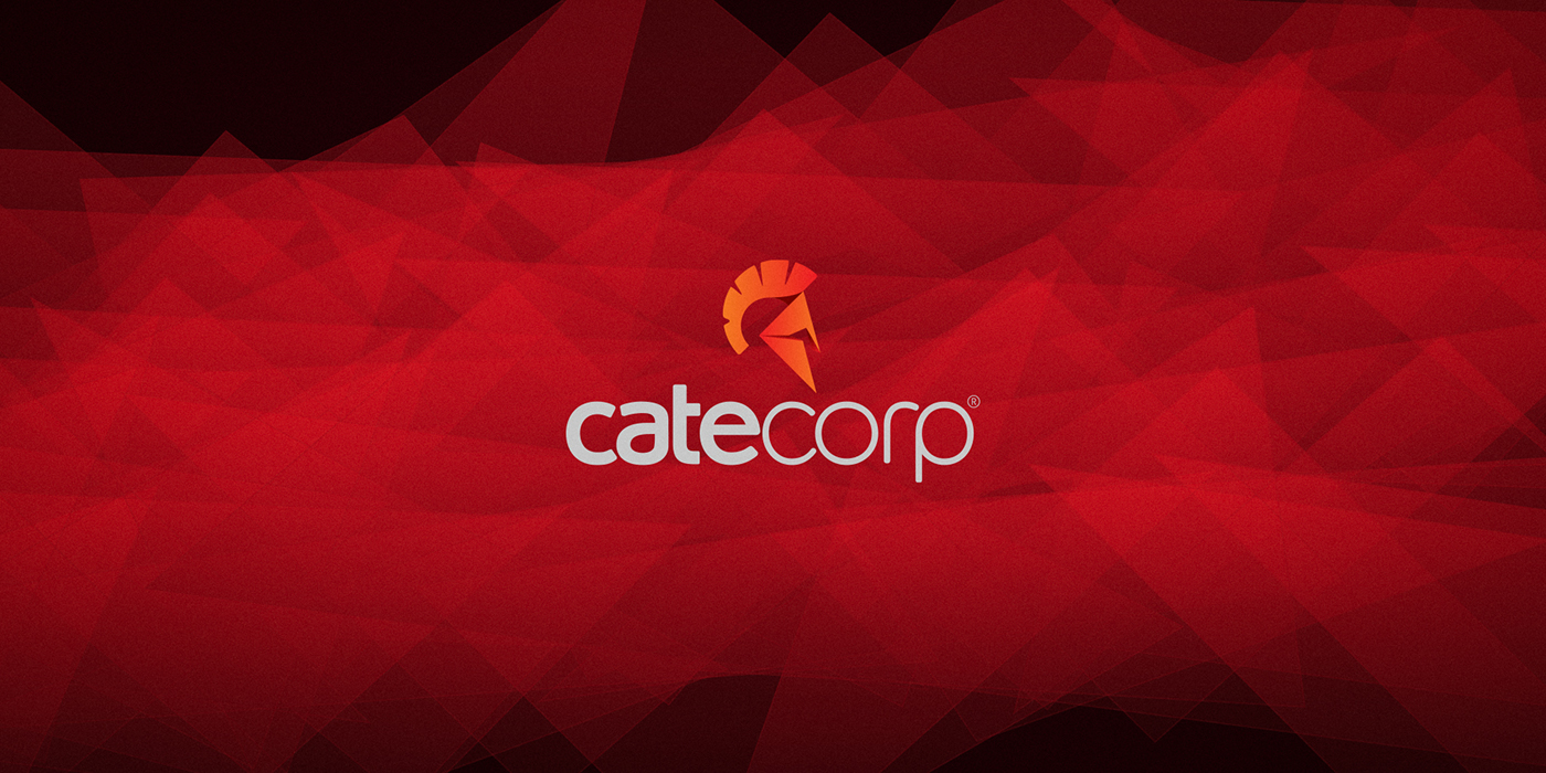 Cate Corp - Logotype & Stationery Design