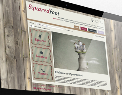 Squaredfoot Web Design