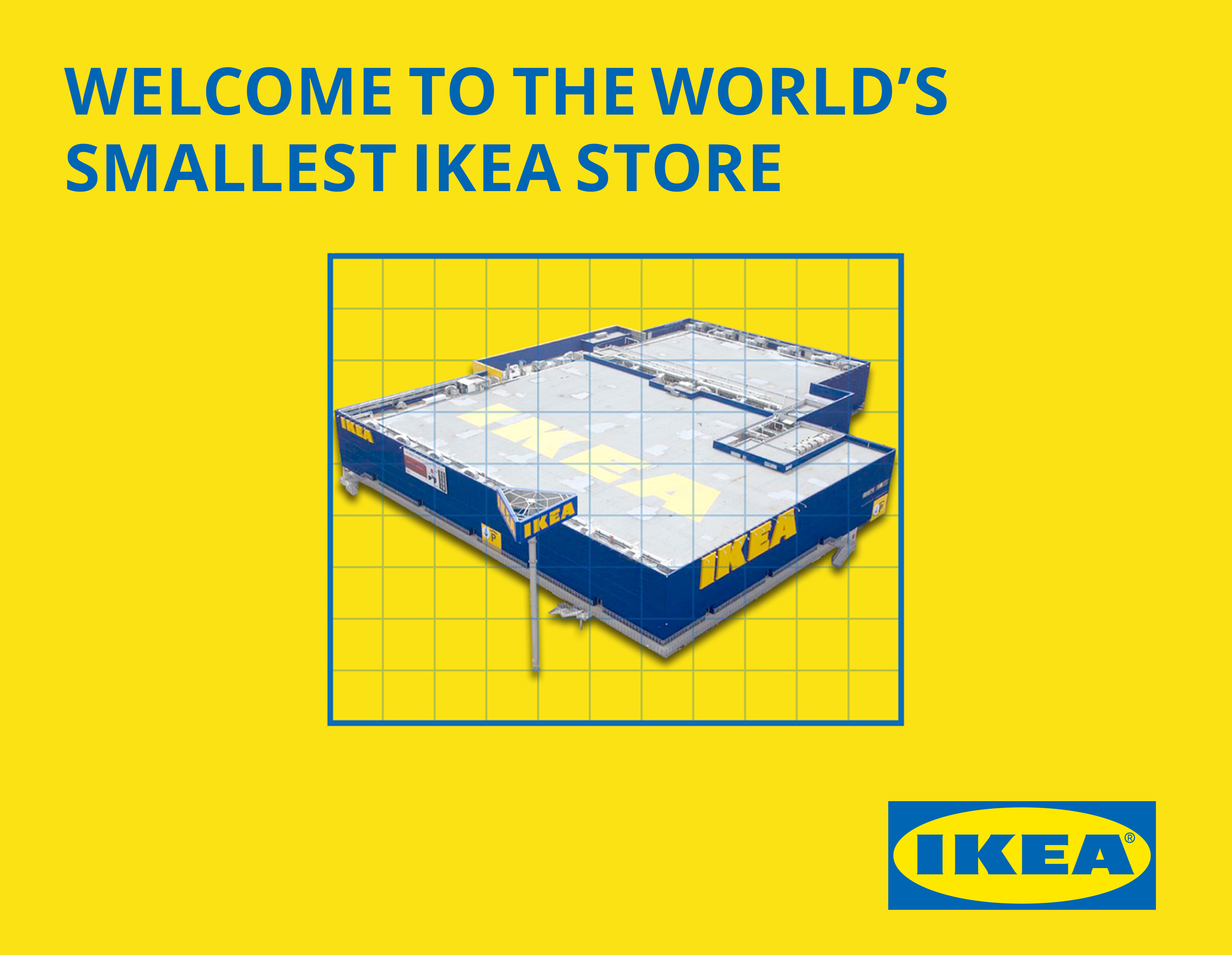 Smallest IKEA store in the World