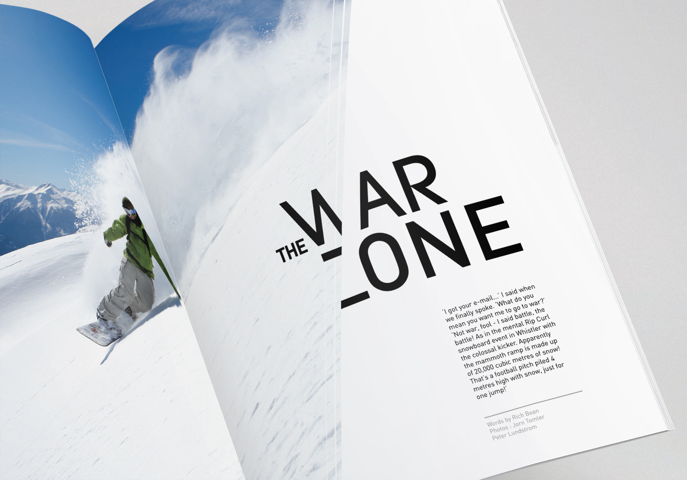 War Zone  //  Transworld Magazine
