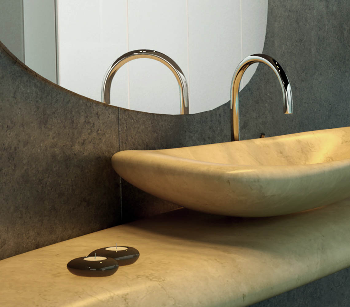 RIVER STONE WASHBASIN