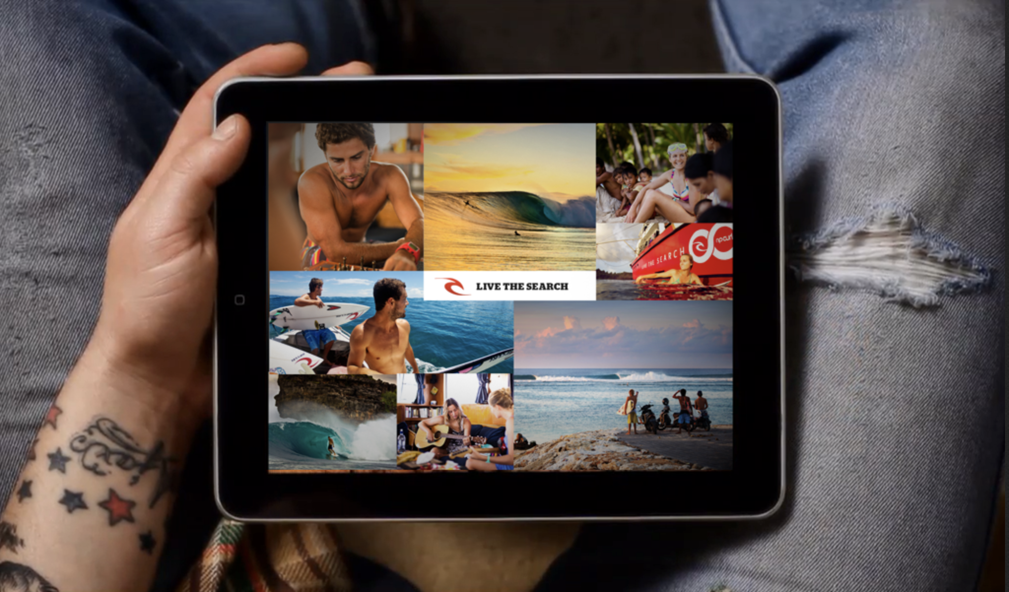 Rip Curl Digital Strategy Concepts