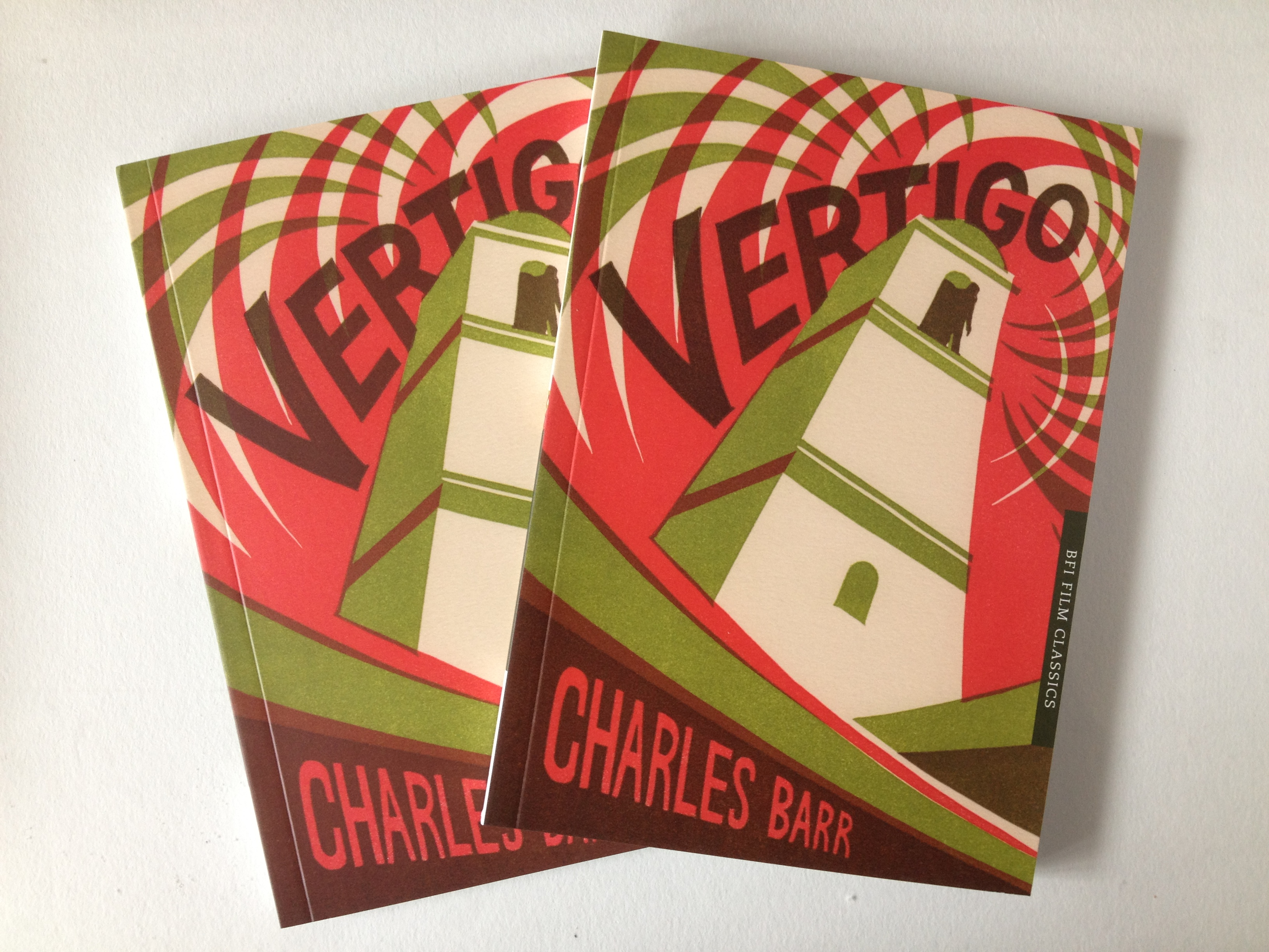 Hitchcocks Vertigo - Book cover design for BFI
