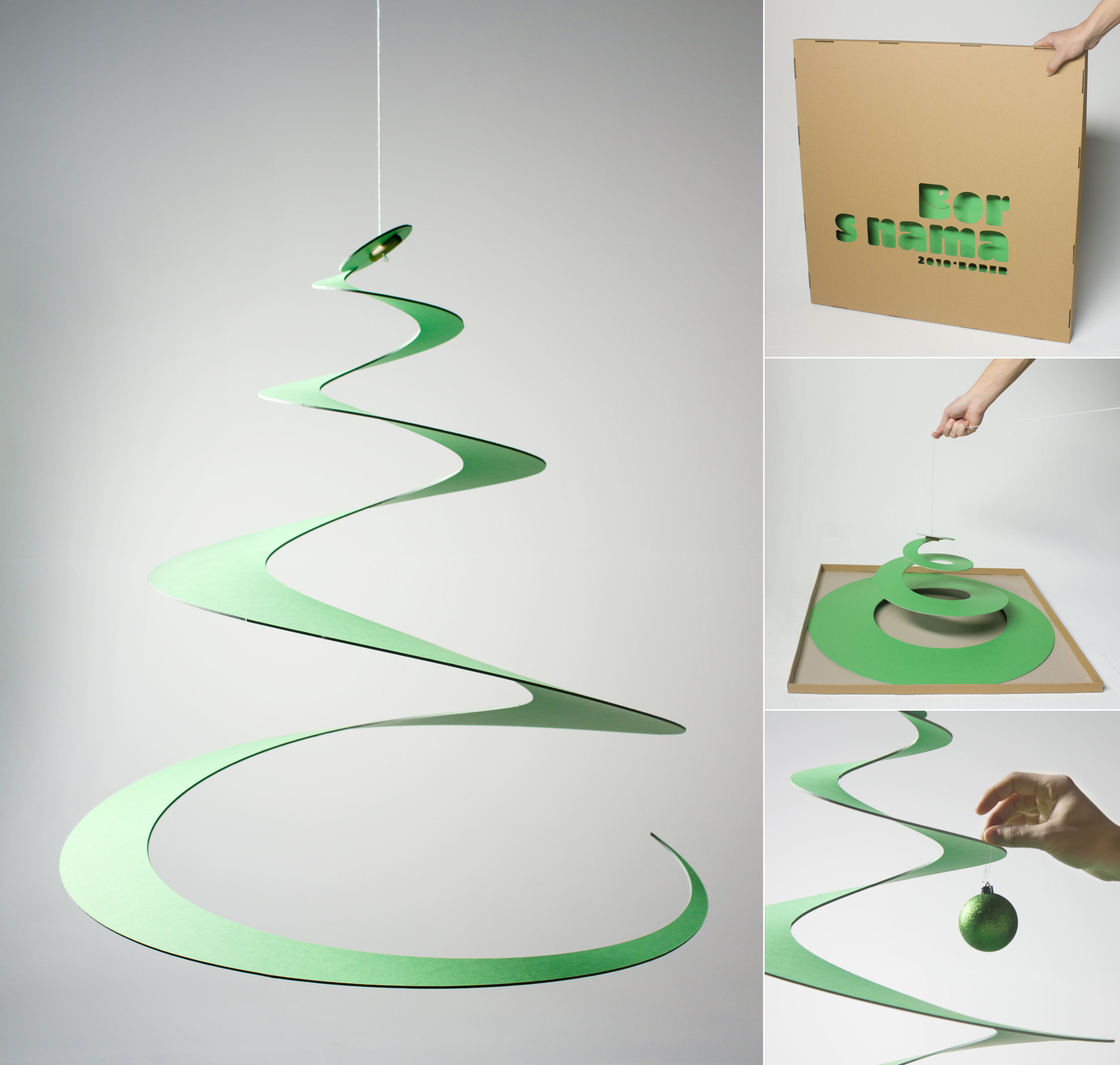 Eco Christmas tree / Creative Borer / Auger
