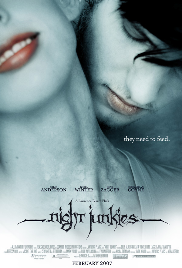 Night Junkies Theatrical Poster
