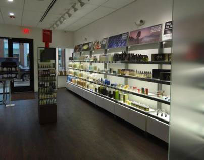 Salon & Retail Design with Equipment: Douglas J Salons
