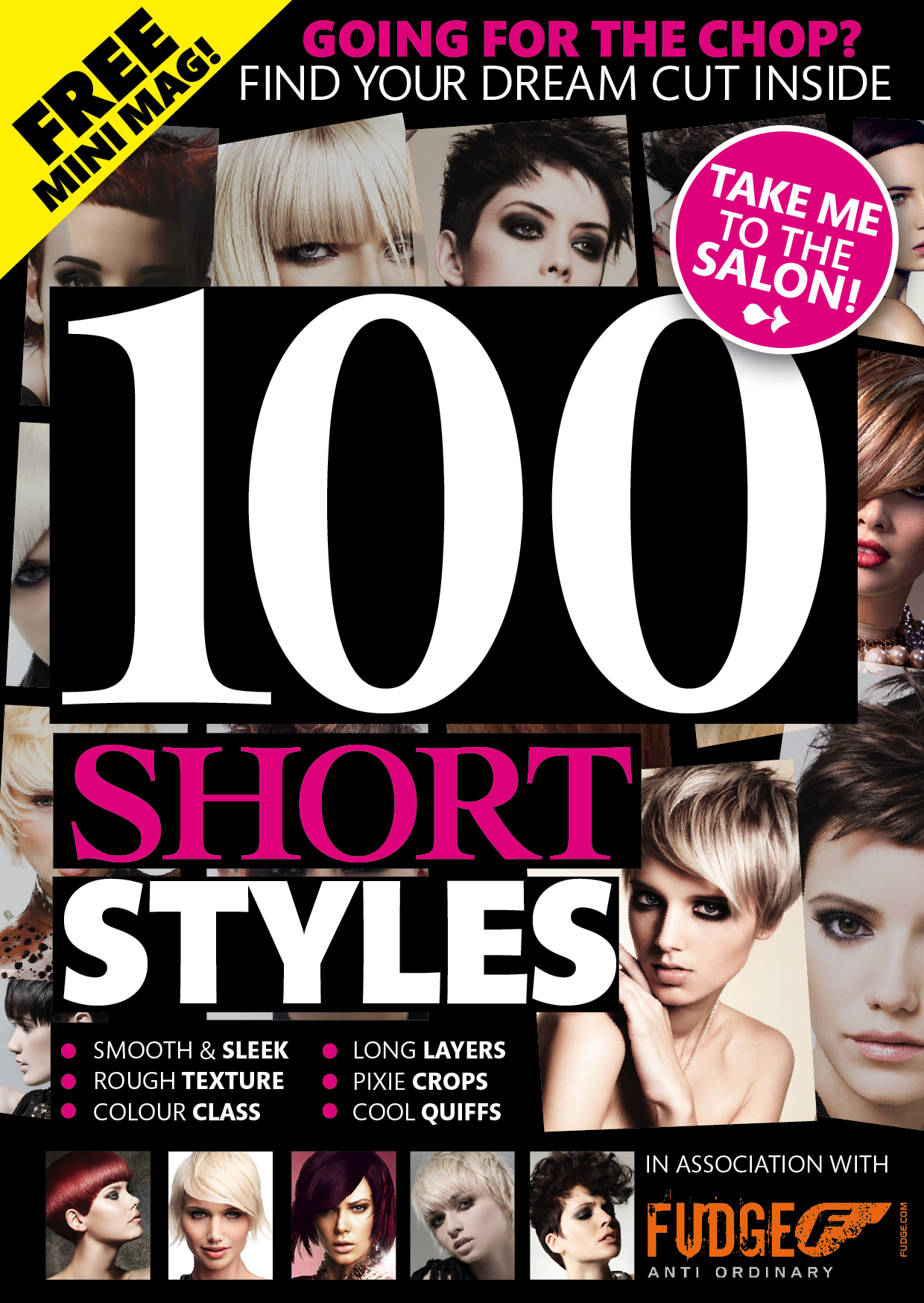 Art Direction & Design: 100 Short Styles Covermount