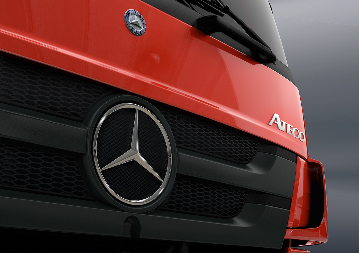 New Atego for Mercedes Benz.