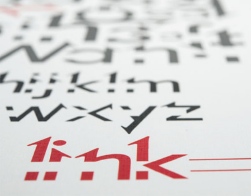 Missing Link - Typographical Experiment
